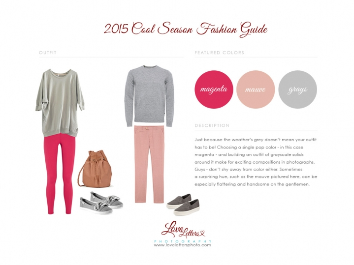 cool season pinks grays what to wear sierra vista family photographer